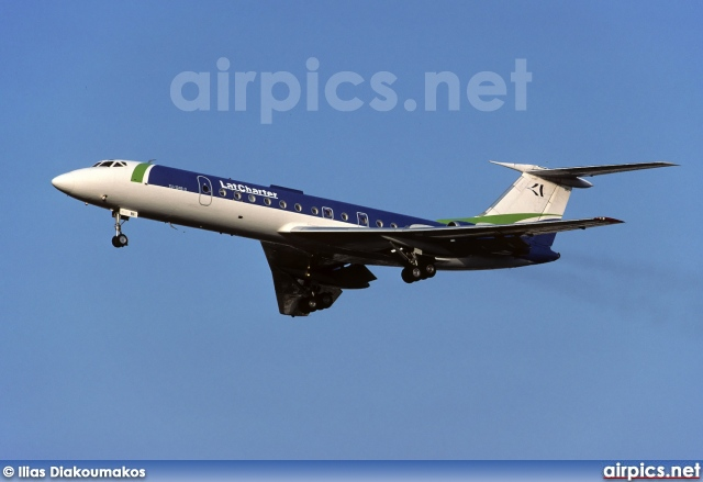 YL-LBE, Tupolev Tu-134-B-3, LatCharter Airlines