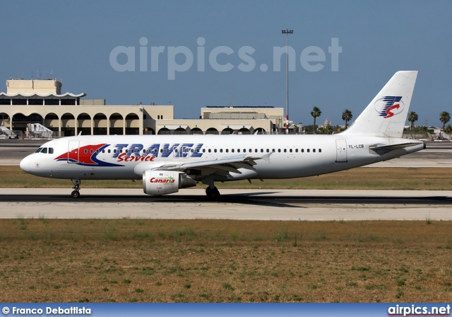 YL-LCB, Airbus A320-200, Travel Service (Czech Republic)