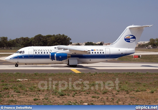 YR-BEA, British Aerospace BAe 146-200, Romavia