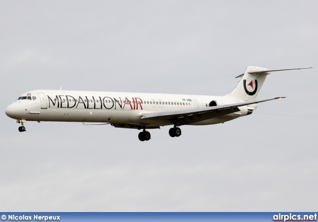YR-HBE, McDonnell Douglas MD-83, Medallion Air