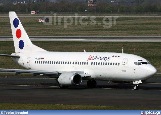 YU-ANJ, Boeing 737-300, Jat Airways