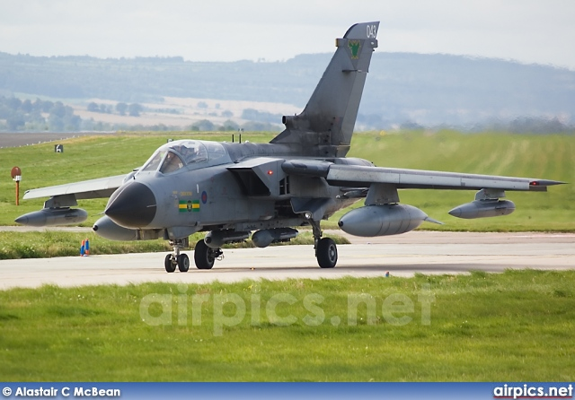 ZA551, Panavia Tornado GR.4, Royal Air Force