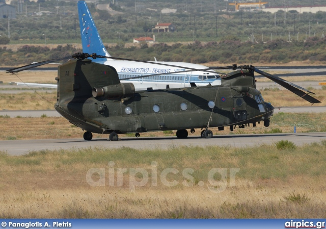 ZA681, Boeing Chinook HC.2, Royal Air Force