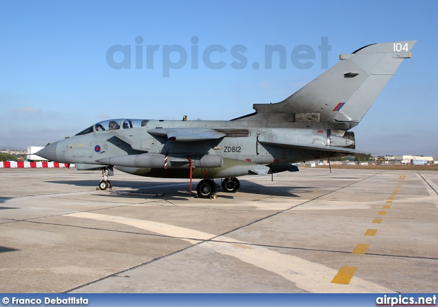 ZD812, Panavia Tornado GR.4, Royal Air Force