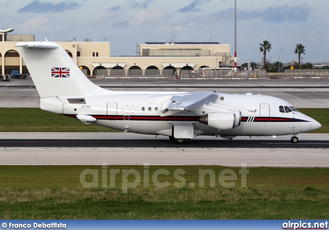 ZE700, British Aerospace BAe 146 CC.2 (100), Royal Air Force