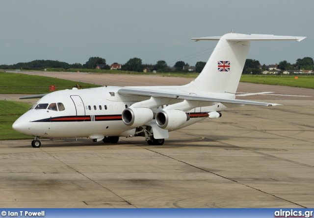 ZE701, British Aerospace BAe 146 CC.2 (100), Royal Air Force