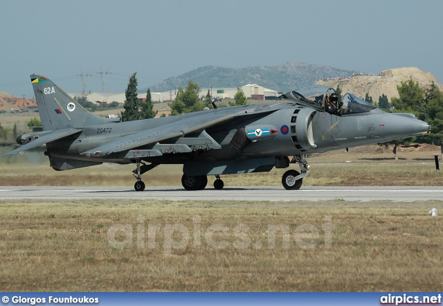 ZG472, British Aerospace Harrier GR.9A, Royal Air Force