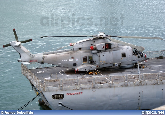ZH852, AgustaWestland EH101 Merlin HM1, Royal Navy - Fleet Air Arm