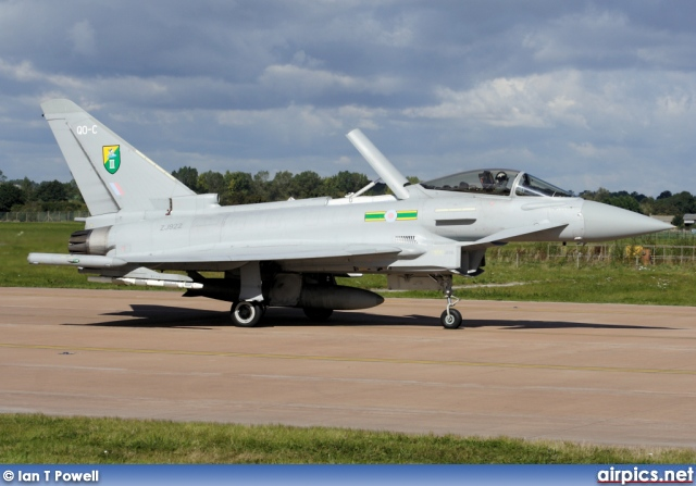 ZJ922, Eurofighter Typhoon F.2, Royal Air Force