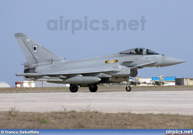 ZJ923, Eurofighter Typhoon F.2, Royal Air Force