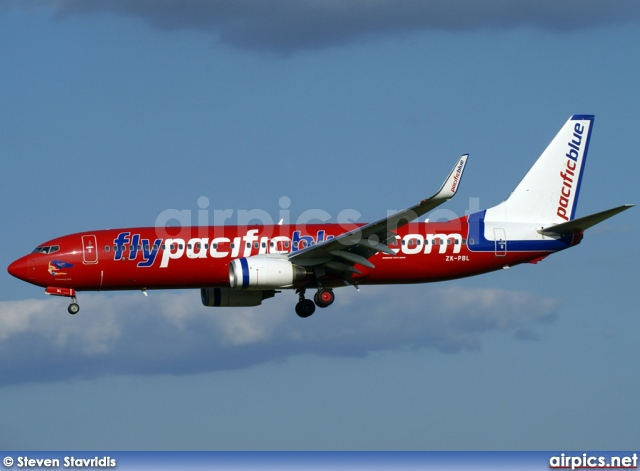 ZK-PBL, Boeing 737-800, Pacific Blue Airlines