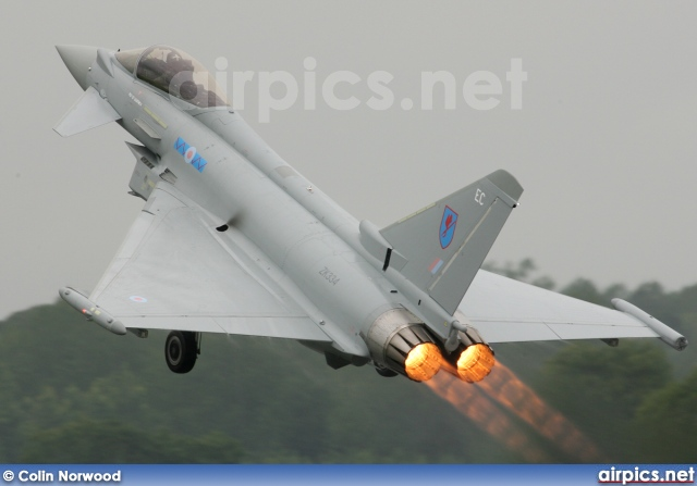 ZK334, Eurofighter Typhoon FGR.4, Royal Air Force