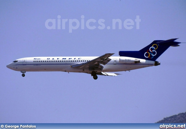 ZS-NZV, Boeing 727-200Adv, Olympic Airways