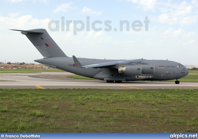 ZZ178, Boeing C-17A Globemaster III, Royal Air Force
