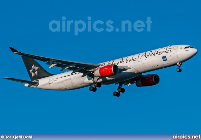 ln-rkn, Airbus A330-300, Scandinavian Airlines System (SAS)