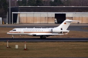 14-04, Bombardier Global 5000, German Air Force - Luftwaffe