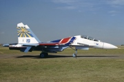 19, Sukhoi Su-27UB, Russian Air Force