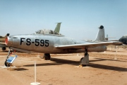 47-1595, Republic F-84C Thunderjet, United States Air Force