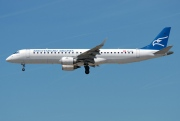 4O-AOA, Embraer ERJ 190-200LR (Embraer 195), Montenegro Airlines