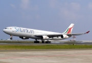4R-ADC, Airbus A340-300, SriLankan