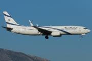 4X-EKB, Boeing 737-800, EL AL