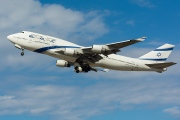 4X-ELC, Boeing 747-400, EL AL