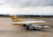 5A-DLV, Fokker F28-4000 Fellowship, Libyan Arab Airlines