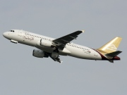 5A-LAQ, Airbus A320-200, Libyan Airlines