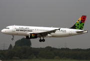 5A-ONA, Airbus A320-200, Afriqiyah Airways
