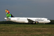 5A-ONB, Airbus A320-200, Afriqiyah Airways