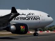 5A-ONF, Airbus A330-200, Afriqiyah Airways