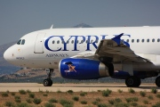 5B-DBO, Airbus A319-100, Cyprus Airways