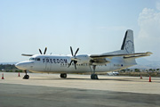 5B-DCB, Fokker 50, Freedom Airways