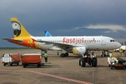 5H-FJC, Airbus A319-100, Fastjet