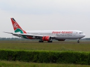 5Y-KQX, Boeing 767-300ER, Kenya Airways
