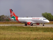5Y-KYJ, Embraer ERJ 170-100LR, Kenya Airways