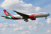 5Y-KYZ, Boeing 777-200ER, Kenya Airways