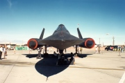 61-7967, Lockheed SR-71A Blackbird, United States Air Force