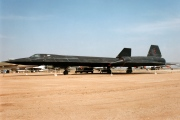 61-7975, Lockheed SR-71A Blackbird, United States Air Force