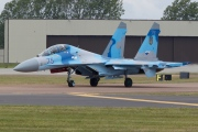 75, Sukhoi Su-27UB, Ukrainian Air Force