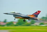 93-0696, Lockheed F-16D Fighting Falcon, Turkish Air Force