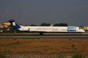 9A-CDC, McDonnell Douglas MD-82, Dubrovnik Airline