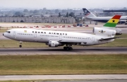 9G-PHN, McDonnell Douglas DC-10-30, Ghana Airways