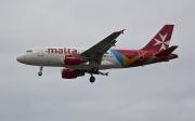 9H-AEH, Airbus A319-100, Air Malta