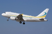 9H-AFL, Airbus A318-100CJ  Elite, Comlux Aviation