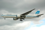 9K-AOA, Boeing 777-200ER, Kuwait Airways