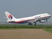 9M-MPL, Boeing 747-400, Malaysia Airlines