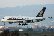 9V-SKT, Airbus A380-800, Singapore Airlines