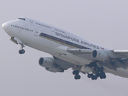 9V-SMW, Boeing 747-400, Singapore Airlines
