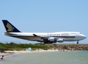 9V-SPF, Boeing 747-400, Singapore Airlines